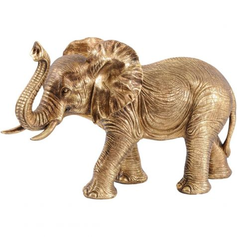 Gold ELEPHANT Sculpture