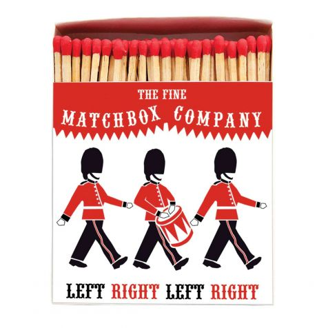 Luxury Matches in SOLDIERS Design
