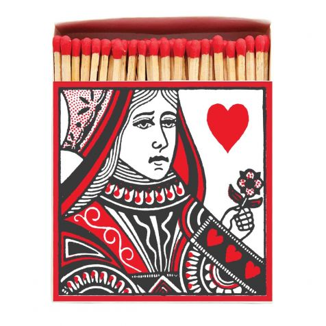 Luxury Matches in QUEEN OF HEARTS Design