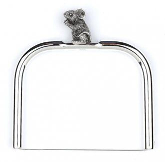 Silver Plate MOUSE Cheese Wire Slice