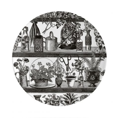 BOTANIST Fine China Wall Art Plate by Chase & Wonder