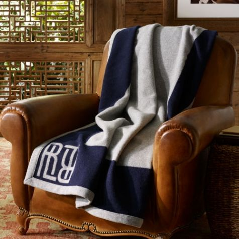 The Ralph Lauren Montclair Wool THROW