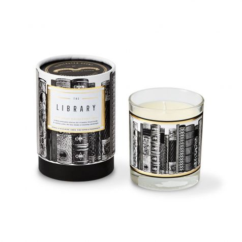 The LIBRARY Scented Candle by Chase & Wonder