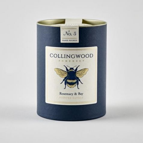 ROSEMARY & BAY Scented Candle by Collingwood Somerset