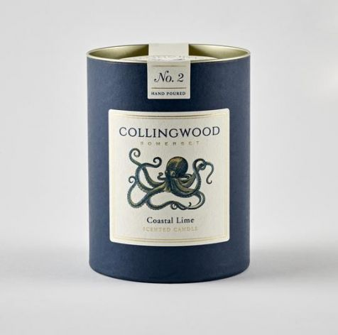 COASTAL LIME Scented Candle by Collingwood Somerset
