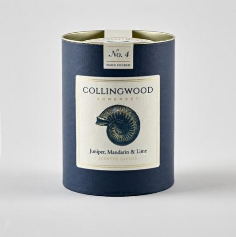 JUNIPER, MANDARIN & LIME Scented Candle by Collingwood Somerset