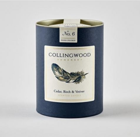 CEDAR, BIRCH & VETIVER Scented Candle by Collingwood Somerset