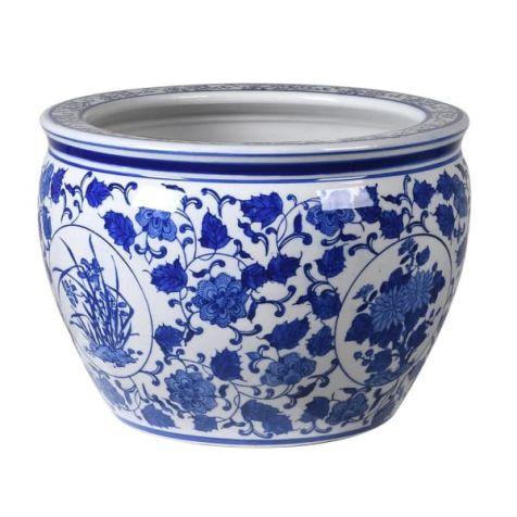 The Blue & White Ceramic PLANTER