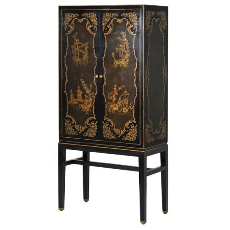 The Pagoda Chinoiserie DRINKS CABINET