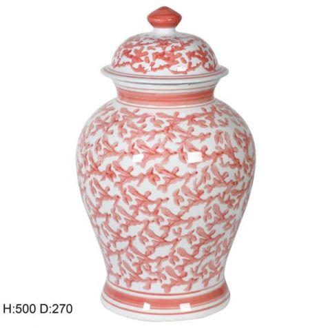 The Corel Ceramic TEMPLE JAR