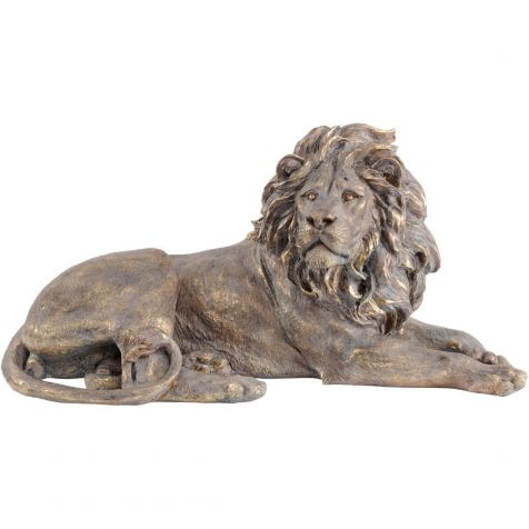 Gold LION Sculpture