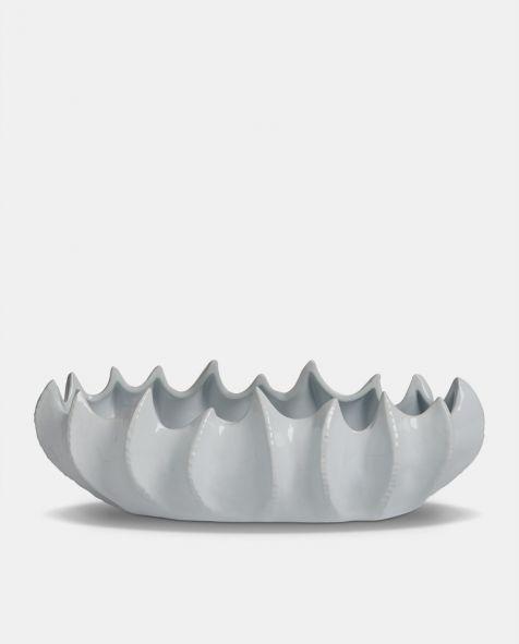 The Gosford White Ceramic LONG BOWL