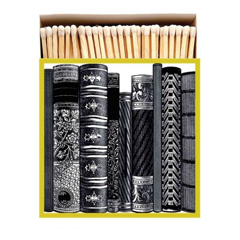 Luxury Matches in Box BOOKS Design