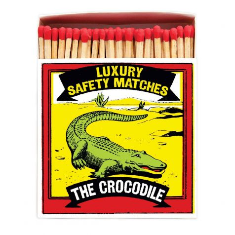 Luxury Matches in CROCODILE Design