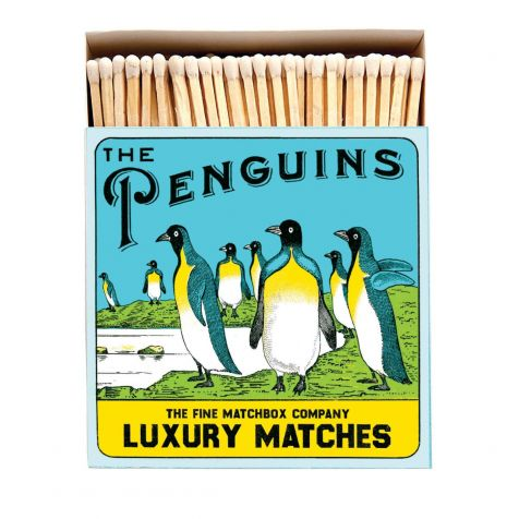 Luxury Matches in PENGUINS Design