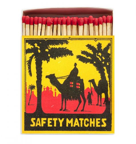 Luxury Matches in CAMEL Design