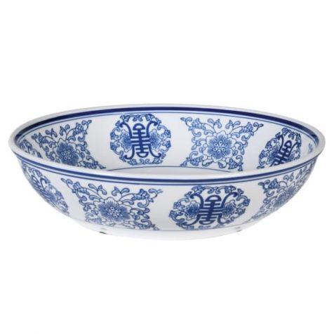 The Classic Blue & White Ceramic BOWL