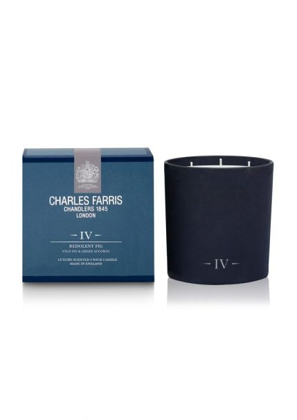 REDOLENT FIG 3 Wick Scented Candle by Charles Farris