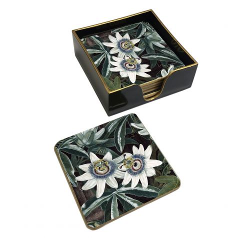 The Passion Flower COASTER Set