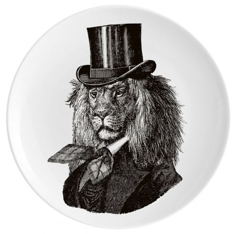 DANDY LION Fine China Wall Art Plate by Chase & Wonder