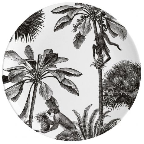 TROPICAL PARADISE Fine China Wall Art Plate by Chase & Wonder