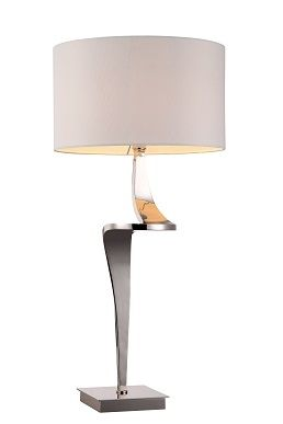The Enzo Nickel TABLE LAMP