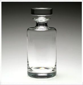 American Bar Lillian Round SPIRIT DECANTER by William Yeoward