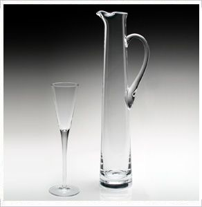 American Bar Lillian TALL CHAMPAGNE JUG by William Yeoward