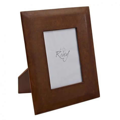 The Burton Leather 4x6 PHOTOGRAPH FRAME