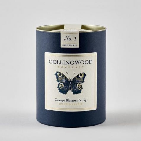 ORANGE BLOSSOM AND FIG Scented Candle by Collingwood Somerset